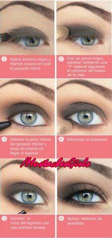 Foto: #Beauty Tips!  Un maquillaje para la noche que le queda bien a rubias, morochas y pelirrojas ;) A practicar!!