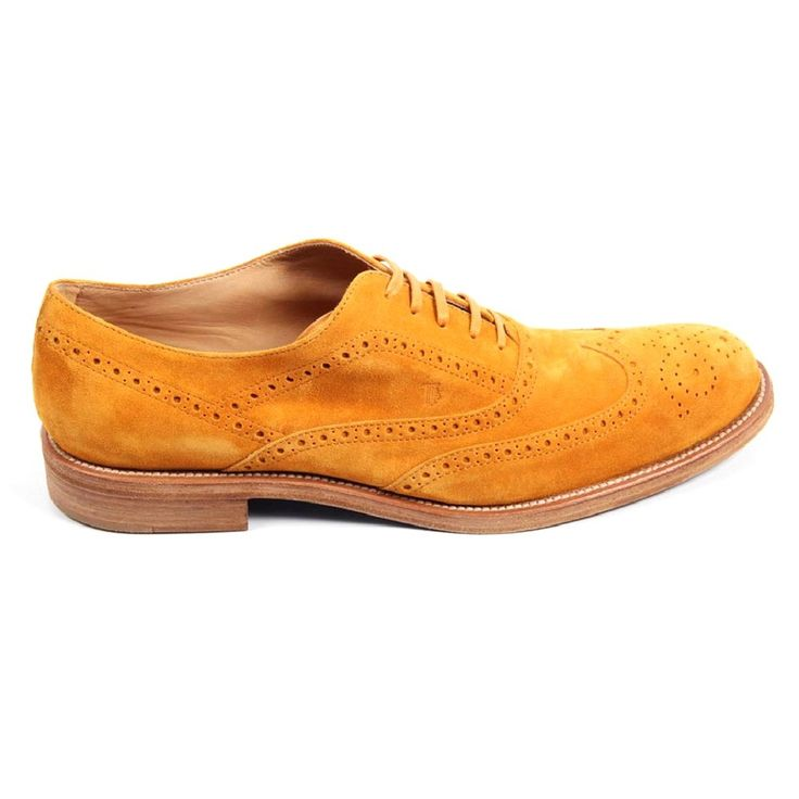 Yellow 45.5 EUR - 12 US Tods mens brogue shoes XXM0QM0G370RE0G812
