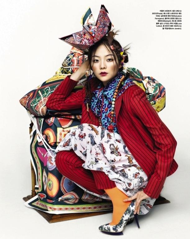 "Prints Play"" by Hyea W. Kang for Vogue Korea"