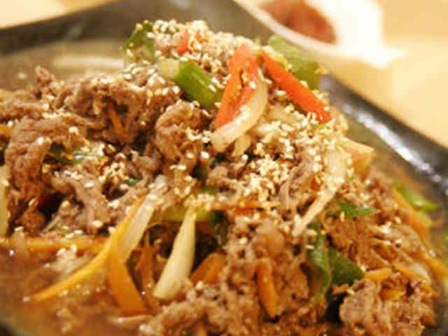 オモニ直伝韓国料理★プルコギの画像