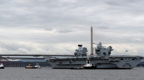 "'Big convenient marine target' – Russian MoD on new British aircraft carrier HMS Queen Elizabeth https://tmbw.news/big-convenient-marine-target-russian-mod-on-new-british-aircraft-carrier-hms-queen-elizabeth  Published time: 29 Jun, 2017 07:26The Russian Defense Ministry has called the latest Royal Navy aircraft carrier a ""big convenient marine target,"" comparing it to a queen bee that is not capable of defending itself without a ""hive"" of other warships.The statement comes after UK Defense…"