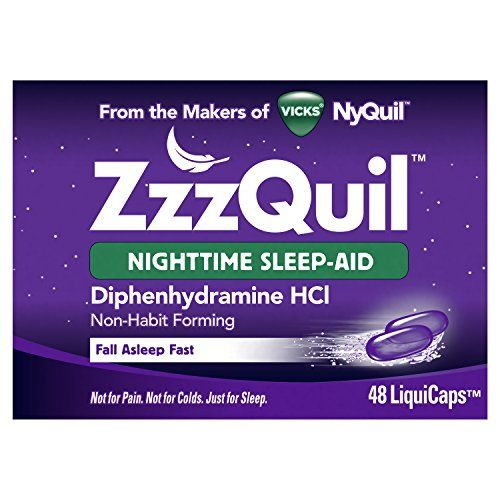 ZzzQuil – A non-habit forming nighttime sleep aid for when you just need a good night's sleep. From the makers of Vicks NyQuil.  http://darrenblogs.com/us/2018/01/30/zzzquil-nighttime-sleep-aid-liquicaps-48-ct-package-may-vary/