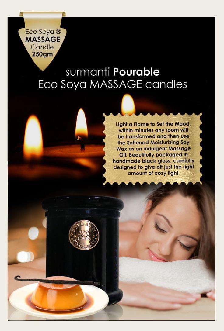 Surmanti Eco Soya Massage Candle