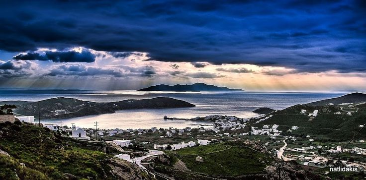 Beautiful Cloudy Serifos  Photo by Nikos Atlidakis