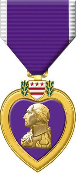 Purple Heart was created by George Washington 233 years ago