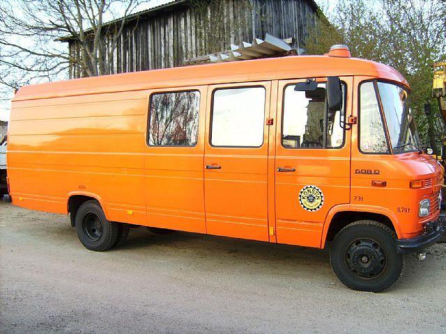 385 besten mercedes 406 407 408 508 608 613 bilder auf pinterest mercedes benz camper und. Black Bedroom Furniture Sets. Home Design Ideas