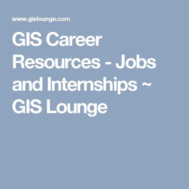 Best Geospatial Careers Images On   Job Resume