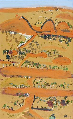 Opal fields near Quilpie. Joe Furlonger.