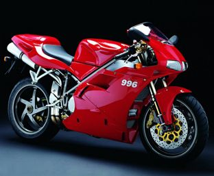 Mmm, the Ducati 996.  Featured prominently in the second Matrix movie.  Found it on diseno-art.com