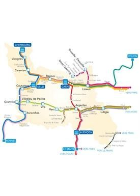 TER Basse-Normandie - Dépliants PDF de vos lignes