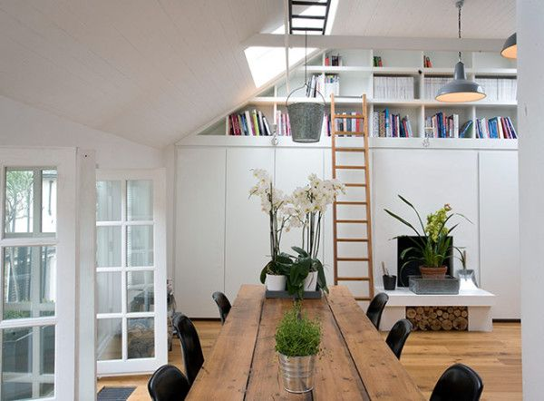 Old Garage Turned Into Fabulous Home (Knott Architects, UK) | Home Design