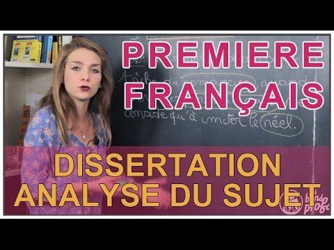 La DISSERTATION : analyse, arguments, plan, rédaction - Dissertation - méthodologie (8 vidéos) - YouTube