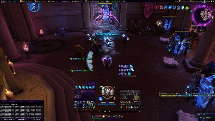 My frost mage weak auras video is in Spanish #worldofwarcraft #blizzard #Hearthstone #wow #Warcraft #BlizzardCS #gaming