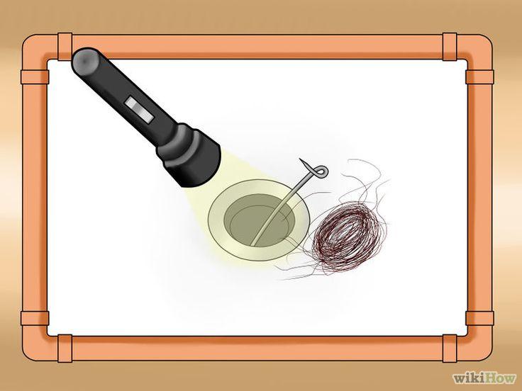 Image intitulée Unclog a Shower Drain Step 26