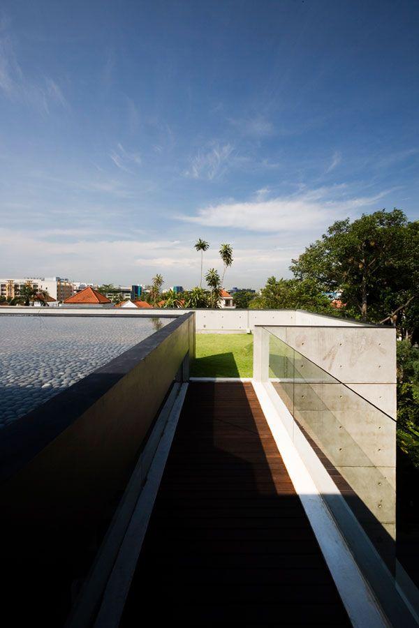 Seletar Close // The Apartment House. Singapore ArchitectureContemporary ...