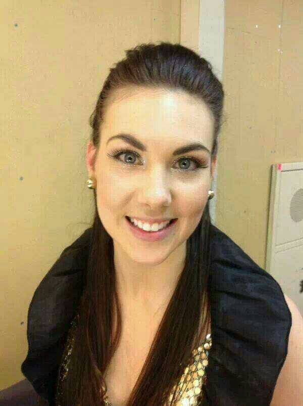 Elize ryd from symphonic metal band Amaranthe