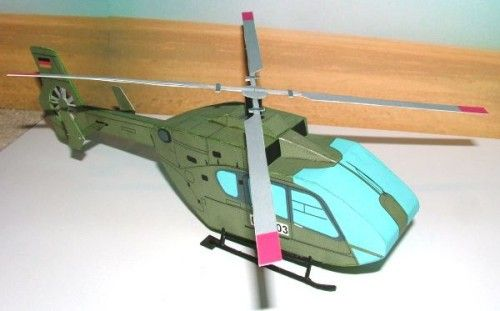 Eurocopter EC135 Helicopter Free Paper Model Download - http://www.papercraftsquare.com/eurocopter-ec135-helicopter-free-paper-model-download-2.html#143, #EC135, #Eurocopter, #Helicopter