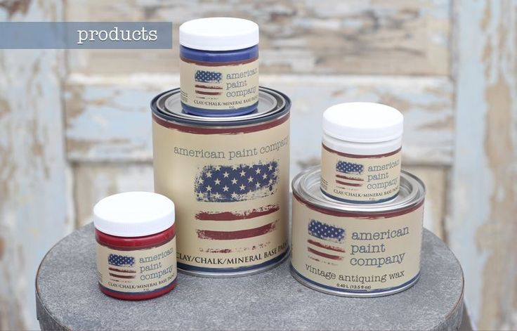 american paint company chalk paint and wax review, chalk paint, painting, Some of their products