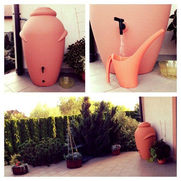 Deszczówkę warto gromadzić i wykorzystywać w ogrodzie. To nie tylko działanie przyjazne roślinom, ale także duża oszczędność.