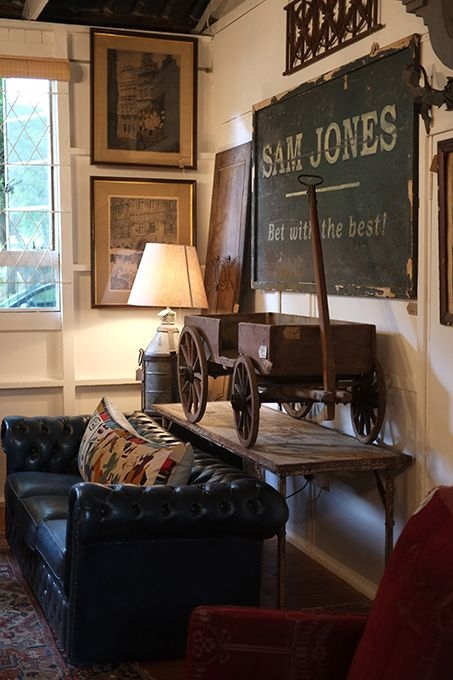 Sam Jones Betting Board & Chesterfield Sofa