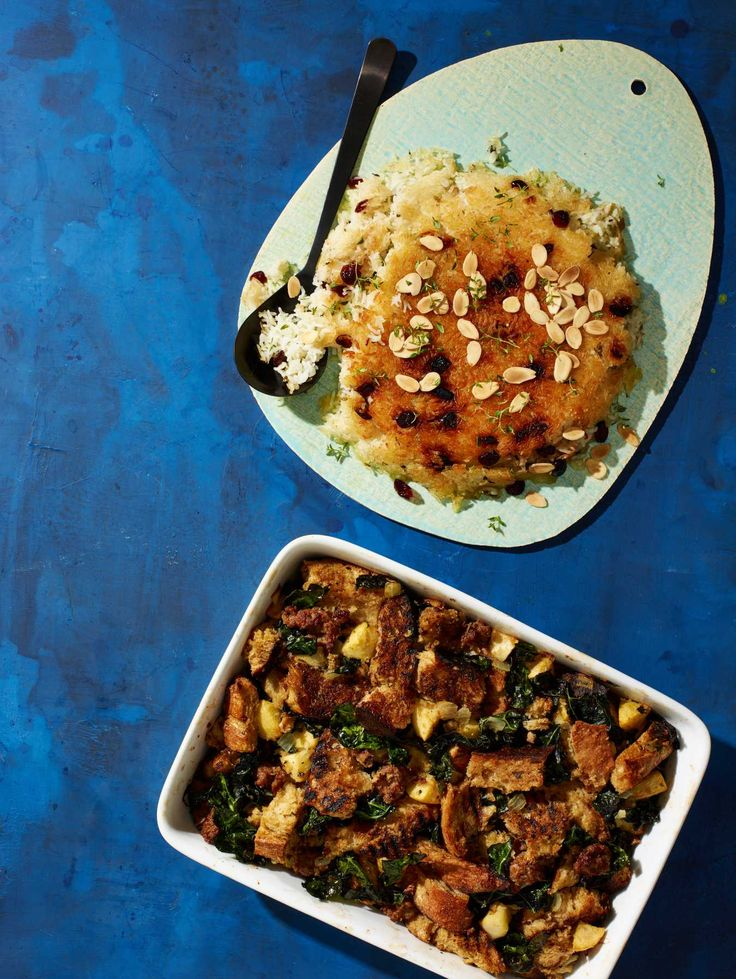 Crispy-Bottom Rice with Cranberries, Thyme