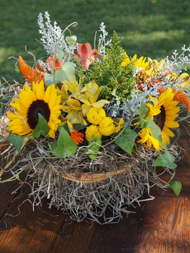 photos of container flowers | Unusual Centerpieces « Mark Kintzel Design