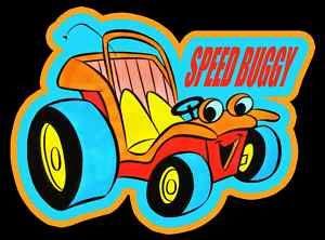 70's cartoons | 70's Classic Cartoon Speedy Buggy Custom Tee | eBay