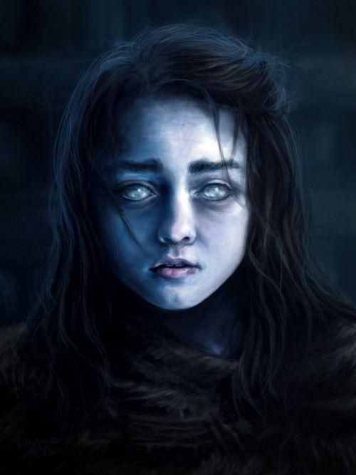 Arya Stark, Blind