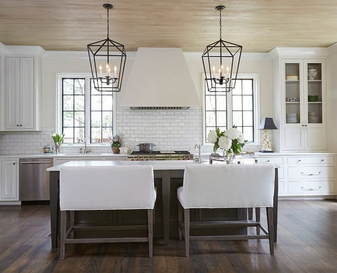 Cantley Company Inc Kitchen Ceiling Is Tongue And Groove With Driftwood Stain