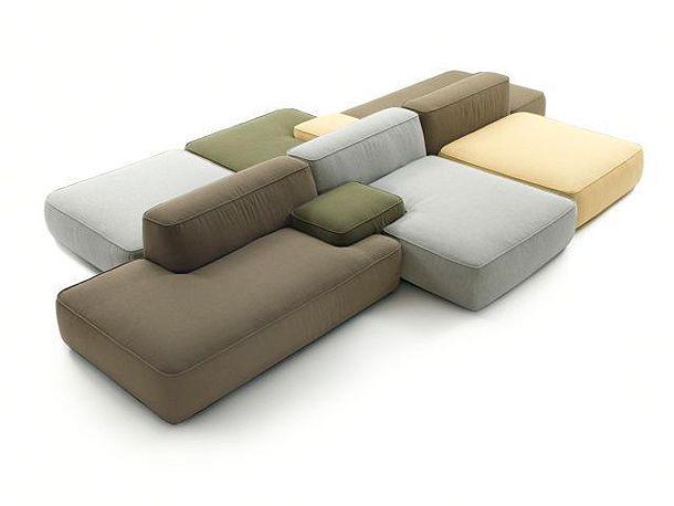 Cloud: un acogedor sofá modular de Francesco Rota para Lema