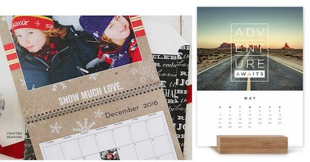 New! FREE Shutterfly 8″x11″ Or 5″x7″ Calendar!