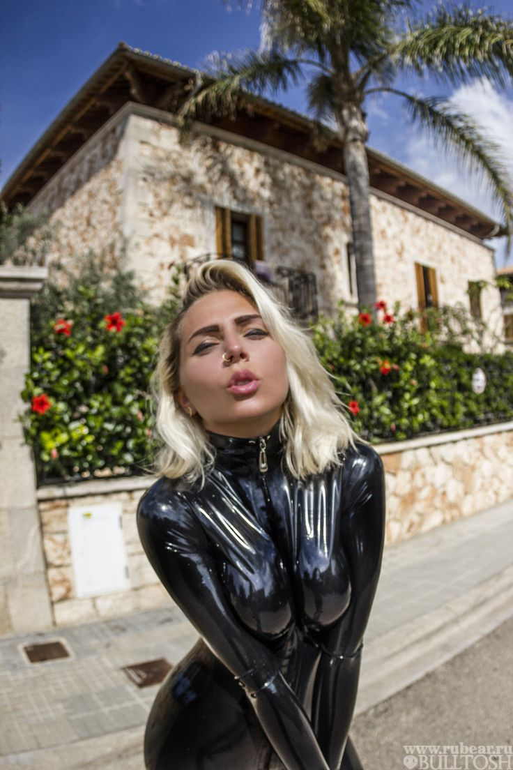 hola from mallorca with love rubber girl katerina piglet