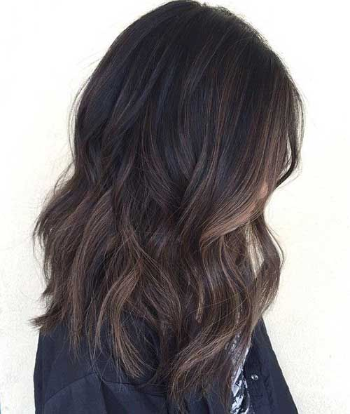 black reverse balayage - Google Search