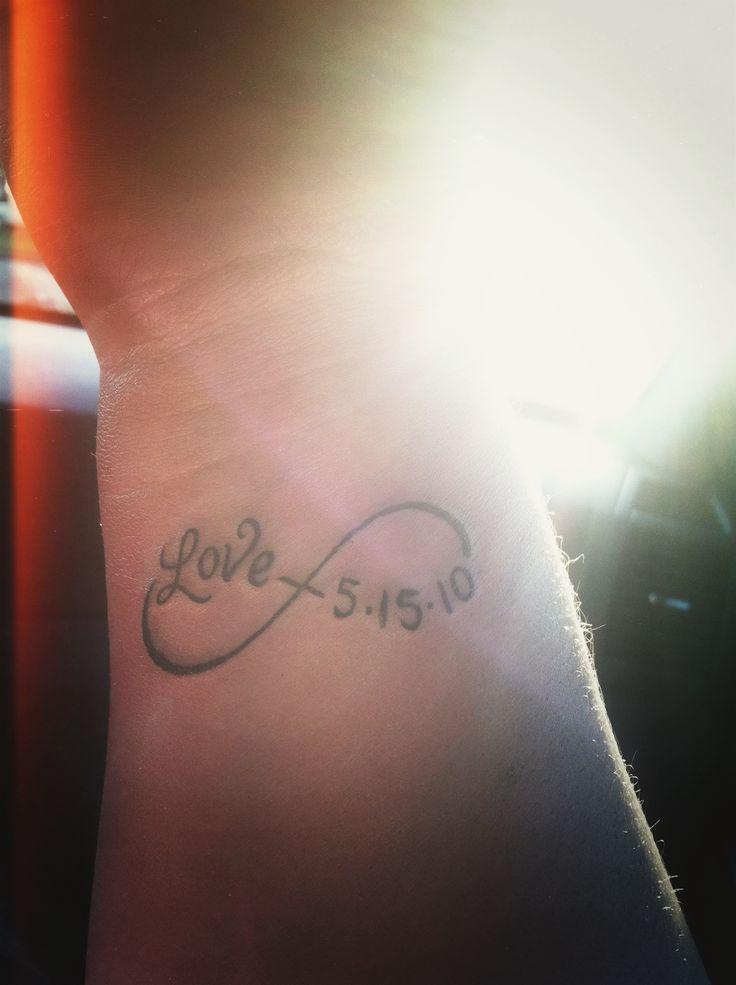 My tattoo. My wedding anniversary :)
