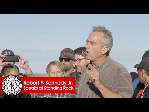 Robert F. Kennedy Jr. Against DAPL   Standing Rock Nov 15 Press Conference - YouTube