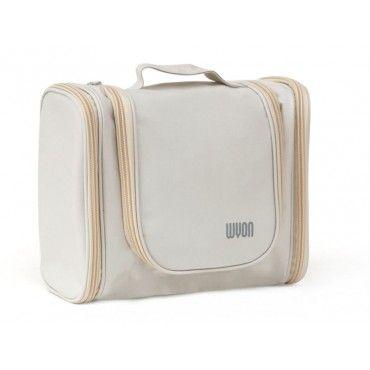 Waterproof Travel Makeup Cosmetics Storage Bag - BEIGE
