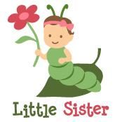 Little Sister - Caterpillar t-shirts and gifts from Your SpecialTee