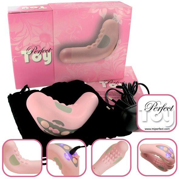 MiPerfectToy - on nimensä mukaisesti naisen täydellinen lelu! Tämä laadukas vibraattori pitää sisällään monia hienoja ominaisuuksia ja myös sellaisia joita muista ei löydy.Valittavissasi on seitsemän erilaista digitaalisesti ohjattua nautinto-ohjelmaa ja ainoalaatuisena ominaisuutena MiPerfectToy