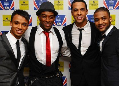 JLS, one of Britain's hottest musical acts. From left to right, they are: Aston, Oritse, Marvin and JB. Do you have a favourite?