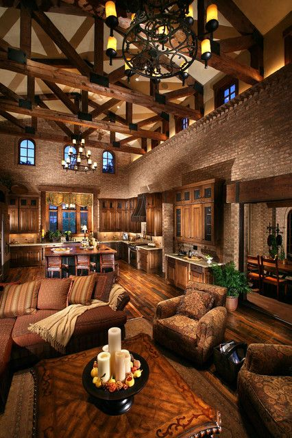 Gorgeous Ceiling Living Room Design Ideas interiorgorgeous modern chalet with wooden vaulted ceiling design idea home interior with high ceiling Mountain Lodge Dream Homes A Collection Of Other Ideas To Try Architects Montana And Great Rooms