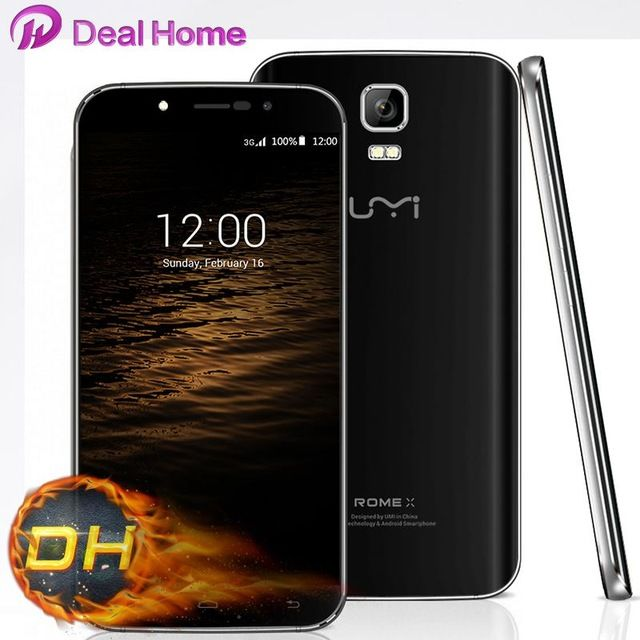 """Original UMI ROME X Smart Phone 5.5"""" Android 5.1 MTK6580 Quad Core 1.3 GHz 1280x720p 8.0MP Cellphone US $64.88-72.99 /piece To Buy Or See Another Product Click On This Link  http://goo.gl/EuGwiH"""