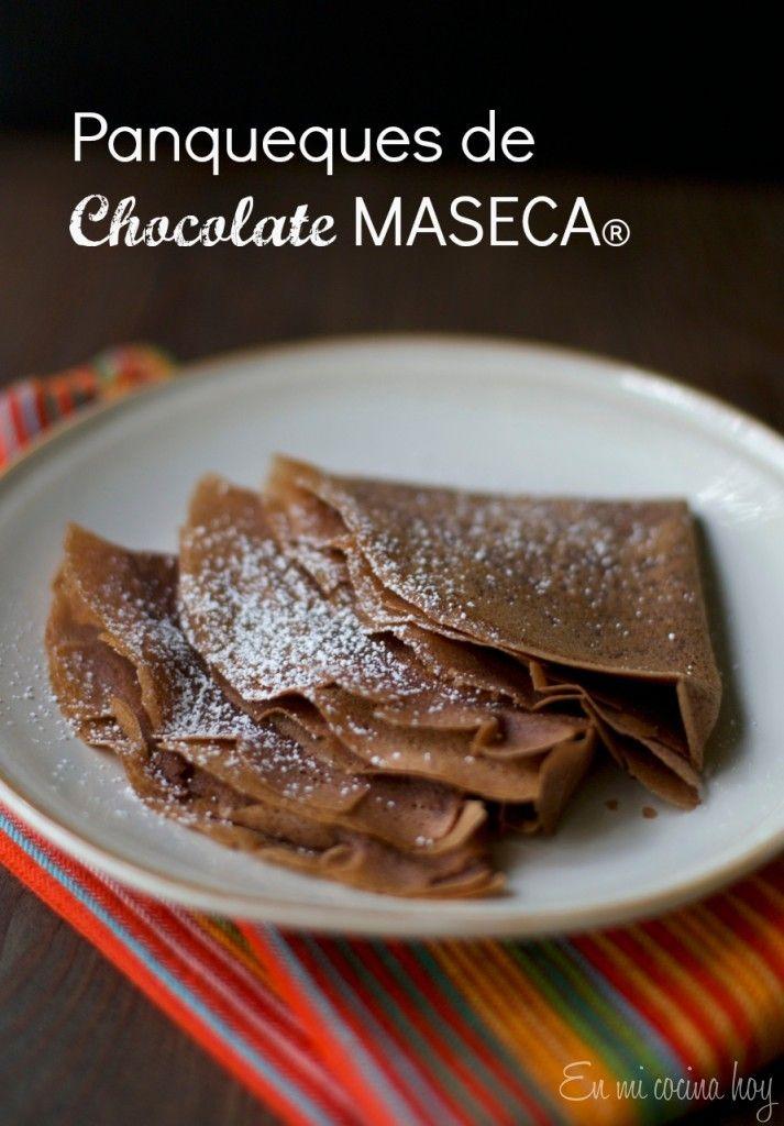 Panqueques de chocolate  | En mi cocina hoy Recipe in Spanish and English