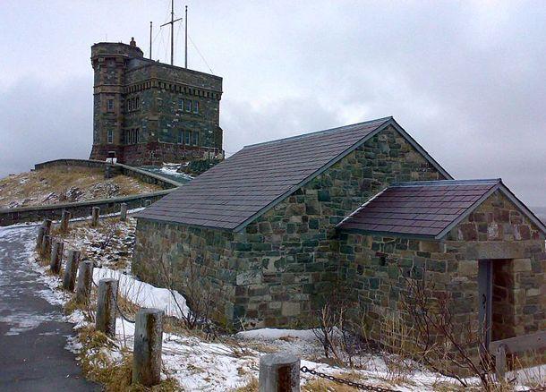 Cabot Tower, Signal Hill, St. John's, Newfoundland