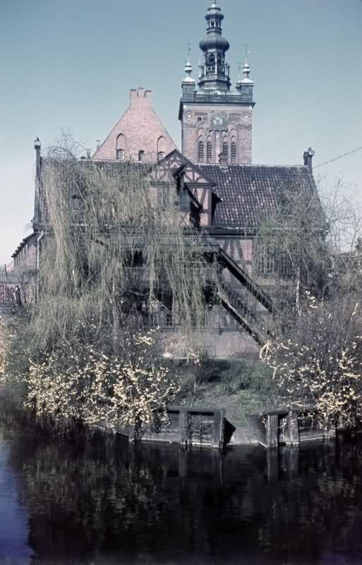 Danzig in alten Farbfotos - Danzig 1930er
