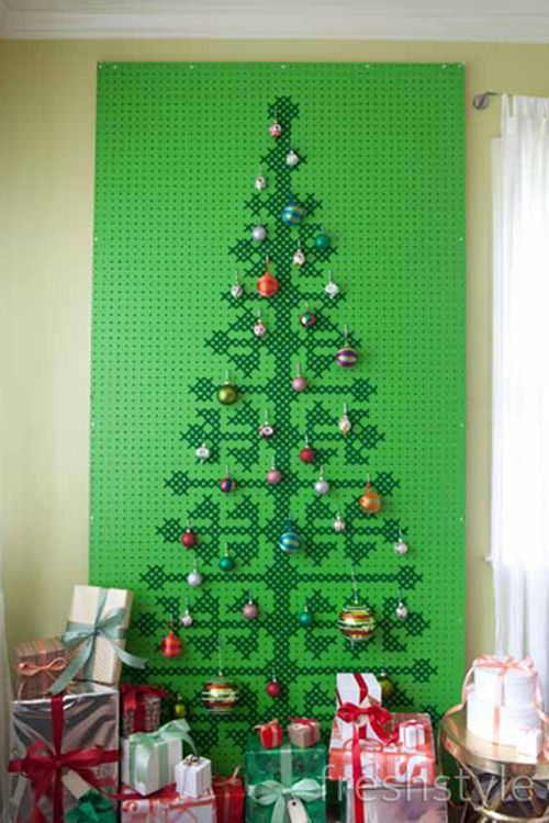 Cross Stitch Pegboard Christmas Tree: Part 2