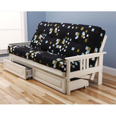 Hardwick Modern Blocks Futon and Mattress - http://delanico.com/futons/hardwick-modern-blocks-futon-and-mattress-697803821/