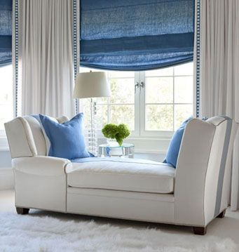 Newport Residence, Designed By Plum Interiors. Drapery, Shade And Pillow By  Finelines