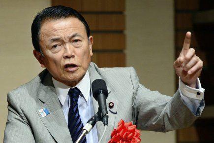Le Japon, à l'heure de réformer sa constitution, pourrait «s'inspirer» de l'Allemagne nazie, a déclaré le vice-premier ministre japonais Taro Aso, s'attirant une vive réaction du Centre Simon Wiesenthal.