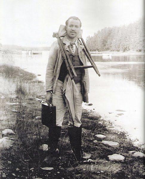 K L U B I: Jan Simberg: Hugo Simberg - Maailmalla matkaaja, Tuonelan tutkaaja.