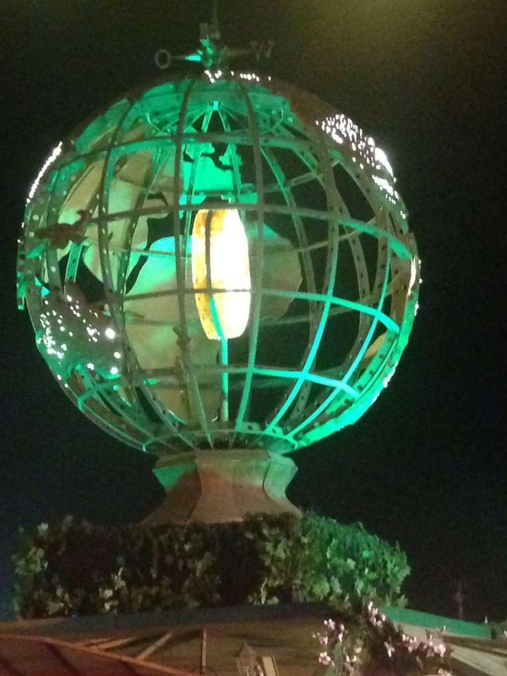 The Tomorrowland Globe